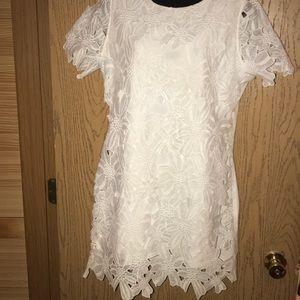 Dresses & Skirts - Lace front dress